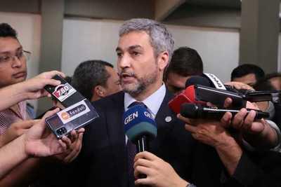 Mario Abdo promulgará ley de financiamiento político