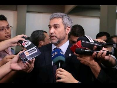 ABDO PROMULGARÁ LEY DE FINANCIAMIENTO POLÍTICO Y ESPERA QUE CONTRIBUYA CONTRA LA IMPUNIDAD