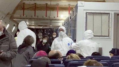 Evacuados del crucero inician una nueva cuarentena en EEUU