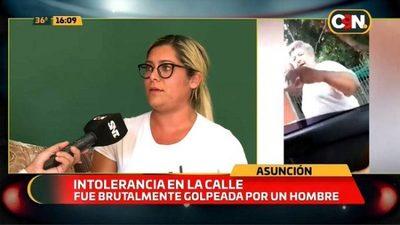"""Mujer denuncia golpiza por """"estacionar mal"""""""
