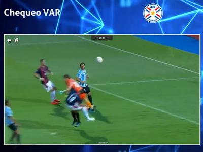 El análisis del VAR en el juego entre Cerro y Guaireña