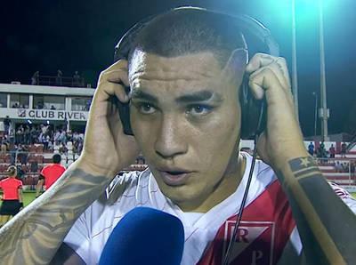 Emiliano Agüero destaca el triunfo ante San Lorenzo