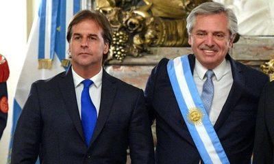 Fernández no asistirá a asunción de Lacalle Pou