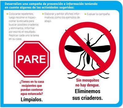 ¡A prevenir el dengue!