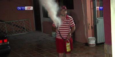 Falla en aire acondicionado provoca incendio en vivienda de Asunción