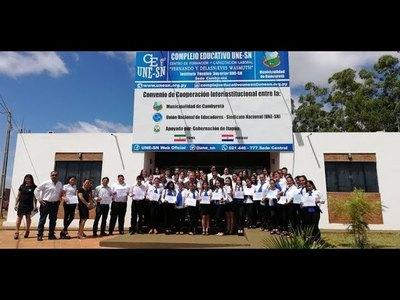 CENTRO DE FORMACIÓN Y CAPACITACIÓN LABORAL EN CAMBYRETÁ HABILITA INSCRIPCIONES PARA CURSOS