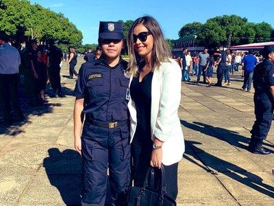 La Diablita defiende ingreso de su hermana en la policía