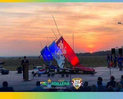 Inauguran el monumento erigido a los Niños Mártires de Acosta Ñu en Eusebio Ayala
