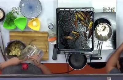 Cocina en la mañana: Hamburguesa de arveja con puré mixto