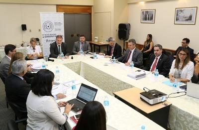 Consejo de Empresas Públicas recibió propuesta acordada de la ANDE