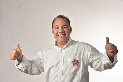 Hugo Fleitas Precandidato a Gobernador de Cordillera