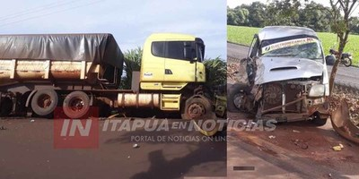 ACCIDENTE EN TRAMO NATALIO-MARIA AUXILIADORA.