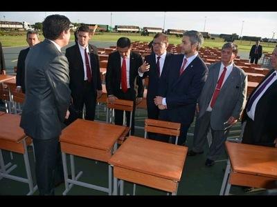 EBY ENTREGA UNOS 15.000 MOBILIARIOS AL MEC