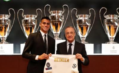 HOY / El Real Madrid presenta al brasileño Reinier