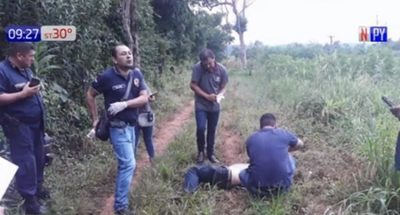 Hallan cadáver de un hombre e investigan homicidio