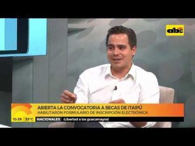 Abierta la convocatoria a becas de Itaipú