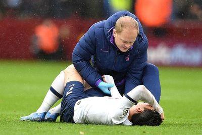 Tottenham pierde a Son por fractura en un brazo