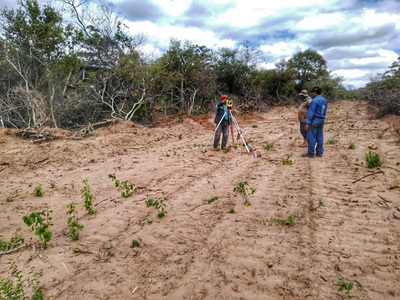 Avanza la segunda fase de limpieza de hitos la frontera con Bolivia