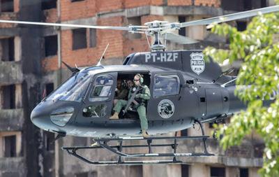 BRASIL PRETENDE DONAR HELICÓPTEROS A PARAGUAY PARA LUCHA CONTRA EL NARCOTRÁFICO