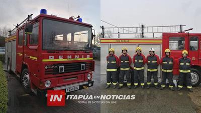 BOMBEROS DE CNEL. BOGADO CERCA DE RECIBIR UN NUEVO CAMIÓN HIDRANTE