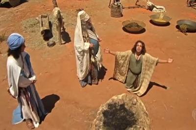 Brasil: condenaron a un canal evangélico por borrar pinturas rupestres mientras rodaba una serie bíblica