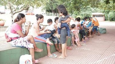 CDE: asisten a familias en situación de calle