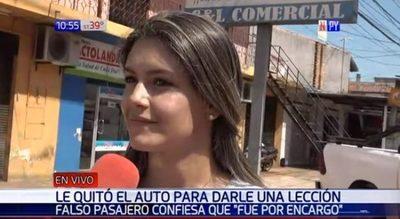 Novia de víctima de robo dice que recibía amenazas de ex