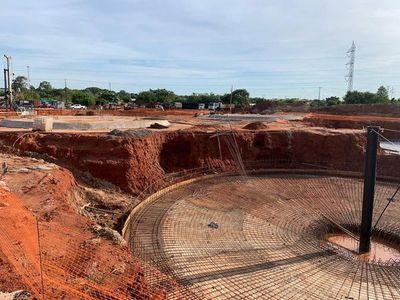Obras de alcantarillado en San Lorenzo avanza sin contratiempos