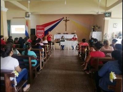 GOBERNACIÓN IMPULSA CAPACITACIÓN DE BENEFICIARIAS DEL PROGRAMA TEKOPORÁ EN ITAPÚA