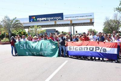 Itaipú anula contrato con empresa de Chamorro Lafarja por no pagar a sus empleados