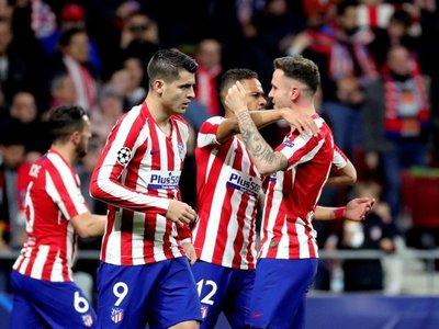 El Atlético da el primer golpe ante el Liverpool