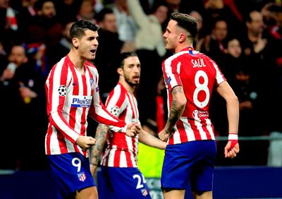 Atlético Madrid se hace fuerte en casa ante Liverpool