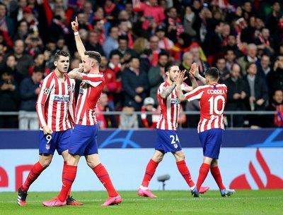 Atlético de Madrid vence al Liverpool en la Champions