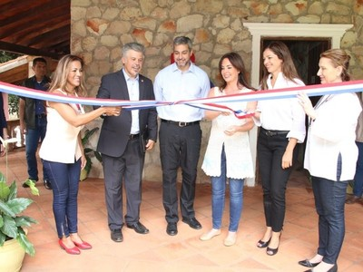 Inauguran centro de adicciones de la Senad en Piribebuy