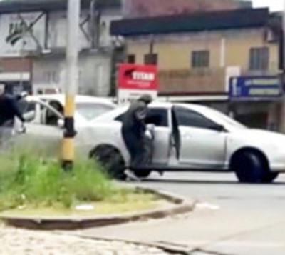 Identifican a sospechosos de violento atraco en Mariano Roque Alonso
