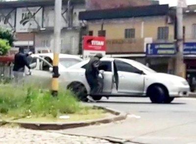 Identifican a presuntos implicados del violento asalto en Mariano Roque Alonso