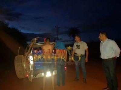 Dos detenidos con carga de marihuana en Zanja Pytã