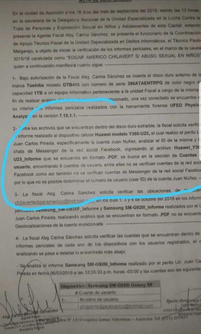 Caso Chilavert: Aparece documento que ratifica su inocencia