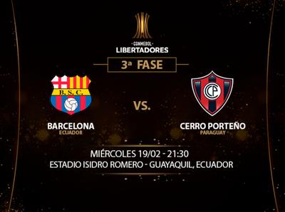 Cerro Porteño quiere dar el golpe ante Barcelona
