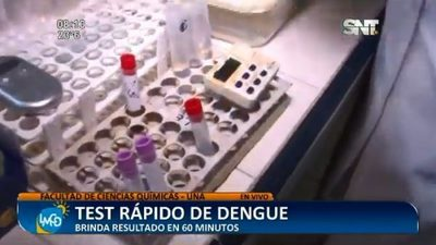 La Facultad de Ciencias Químicas ofrece test rápido de detención del dengue
