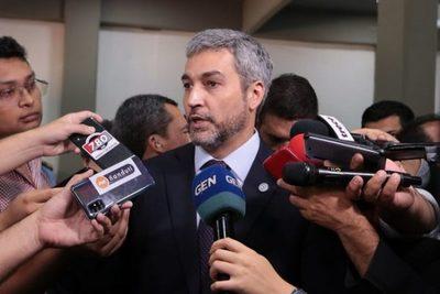 """Mario Abdo anuncia que eliminará a """"planilleros"""" de las instituciones públicas"""