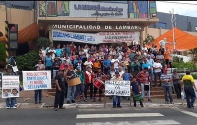 Municipalidad de Lambaré pagará salarios atrasados del mes de noviembre