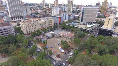Buscan revitalizar plazas históricas de Asunción