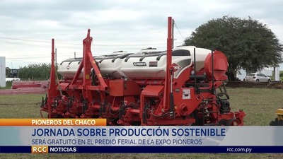 PREPARAN CHARLA SOBRE PRODUCCIÓN SOSTENIBLE DE CULTIVOS DE VERANO EN EL CHACO 2020