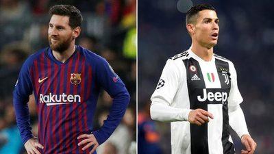 Messi y Ronaldo siguen con cotización alta
