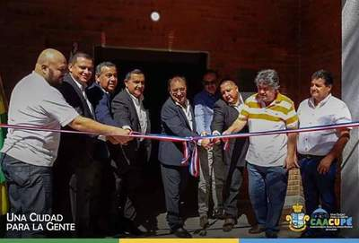Fue inaugurada nueva sede en la Liga Caacupeña de fútbol