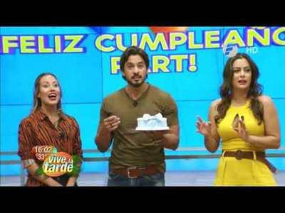 ¡Así festejamos el cumpleaños de Carlitos Ortellado!