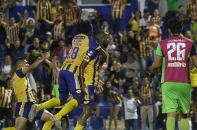 Sportivo Luqueño avanza en la Copa Sudamericana