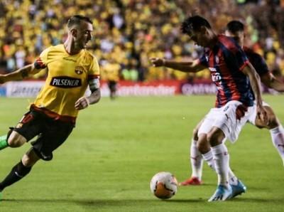 Cerro Porteño cayó ante Barcelona de Guayaquil y la serie sigue abierta