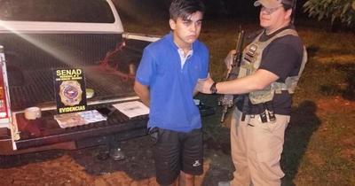 """Detuvieron a presunto """"delivery"""" de cocaína en Misiones"""